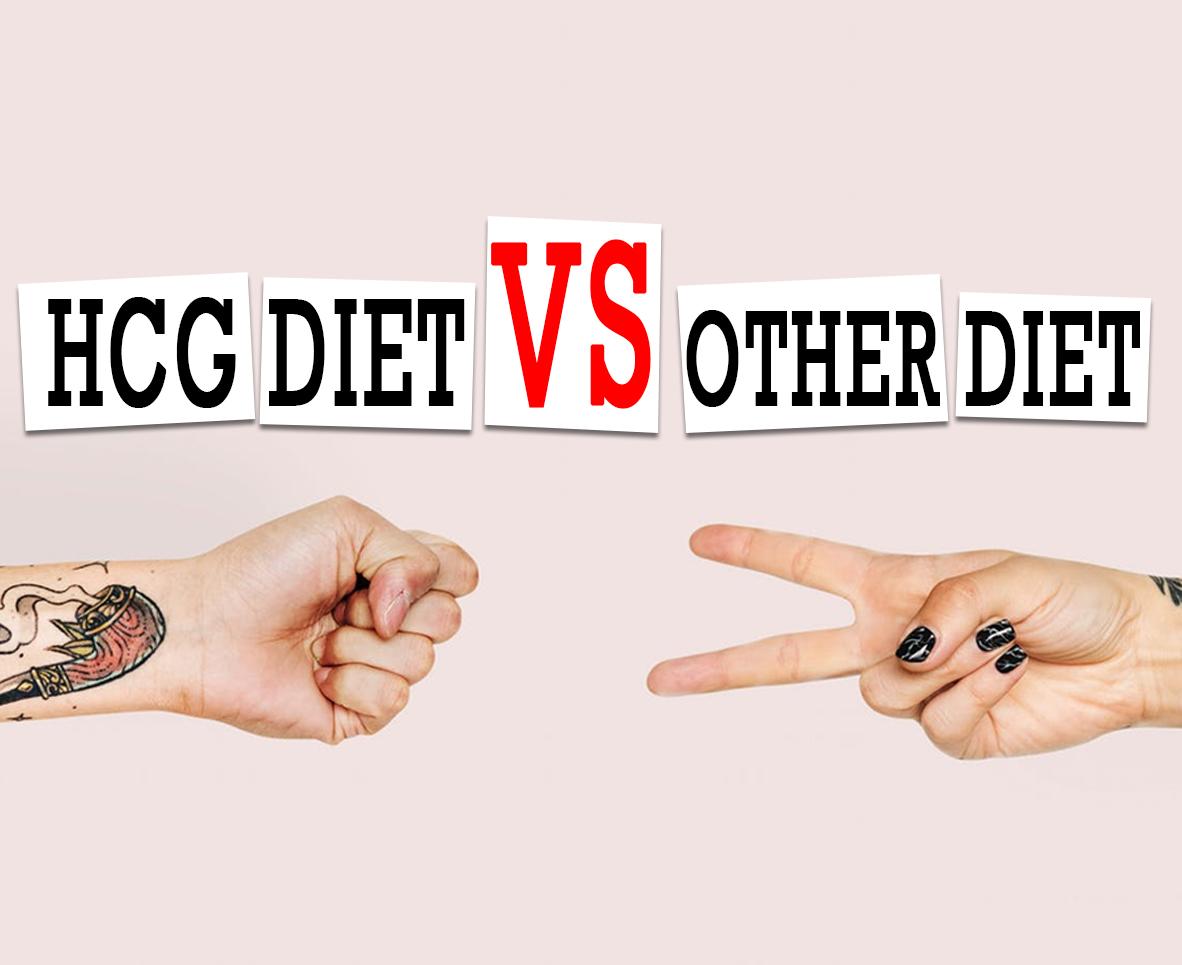 HCG DIET VS OTHER DIET