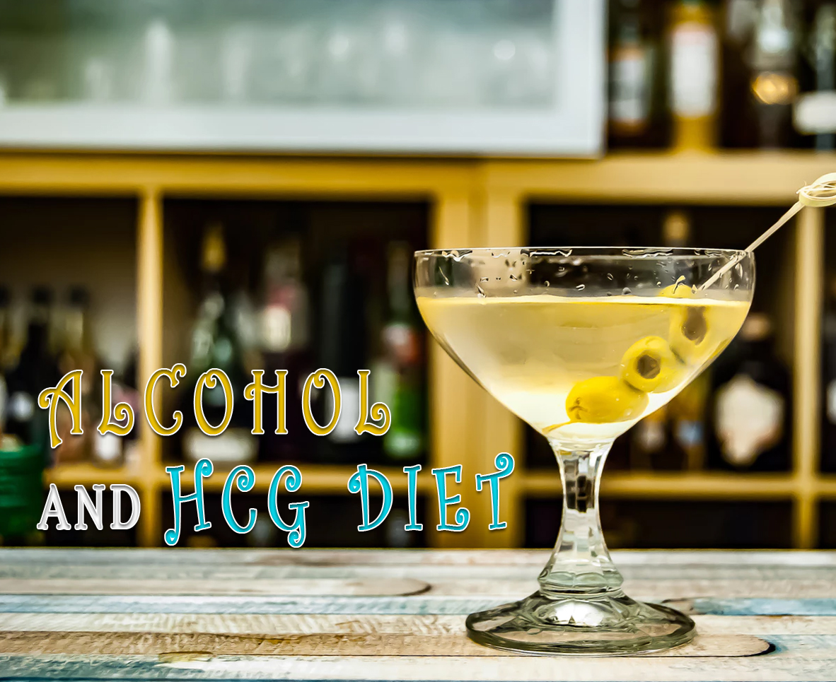 ALCOHOL AND HCG DIET