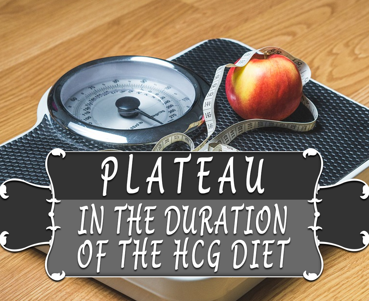PLATEAU IN THE DURATION OF THE HCG DIET