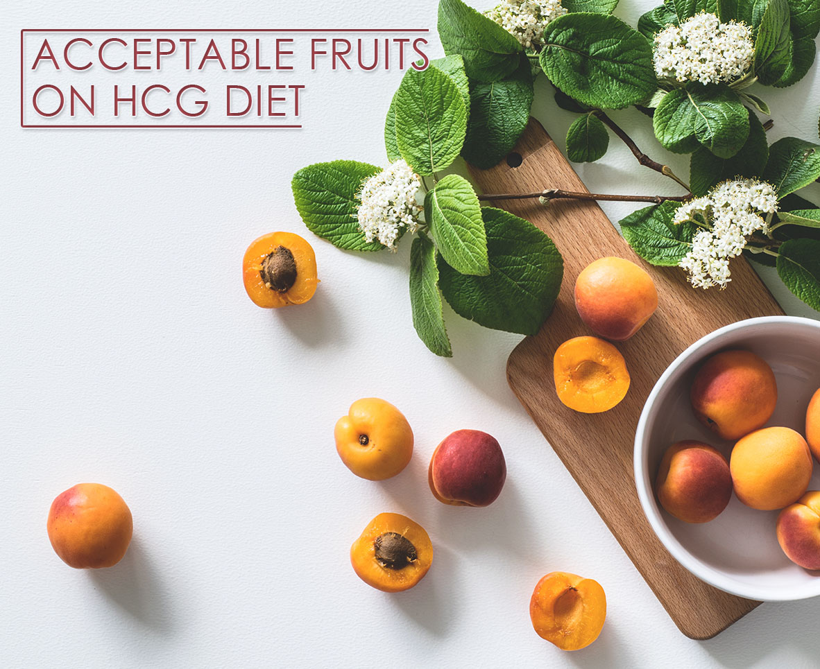 ACCEPTABLE FRUITS ON HCG DIET