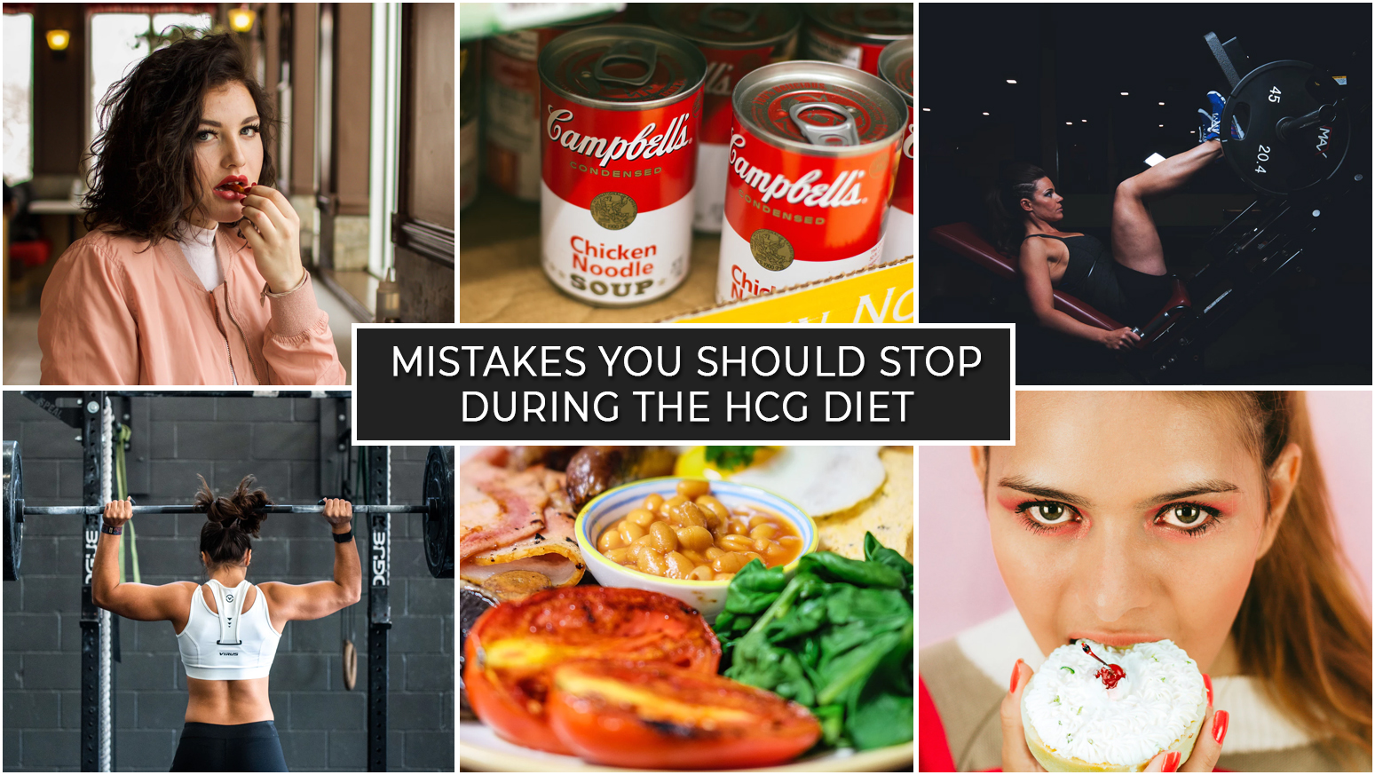 MISTAKES YOU SHOULD STOP DURING THE HCG DIET