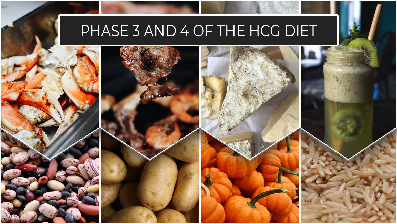PHASE 3 AND 4 OF THE HCG DIET