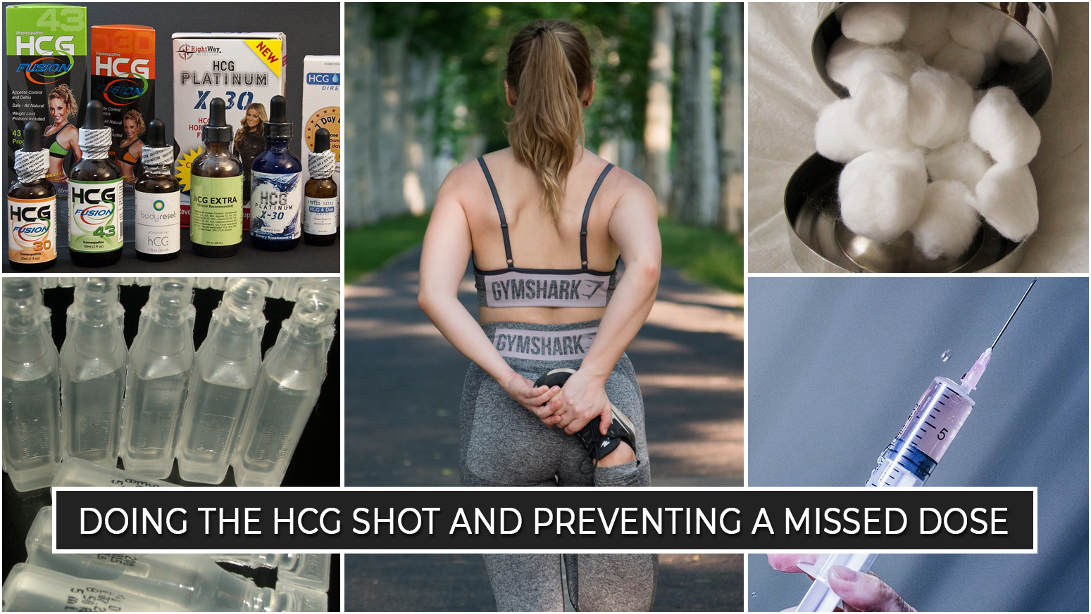 DOING THE HCG SHOT AND PREVENTING A MISSED DOSE