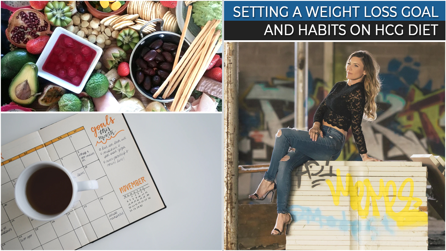 SETTING A WEIGHT LOSS GOAL AND HABITS ON HCG DIET