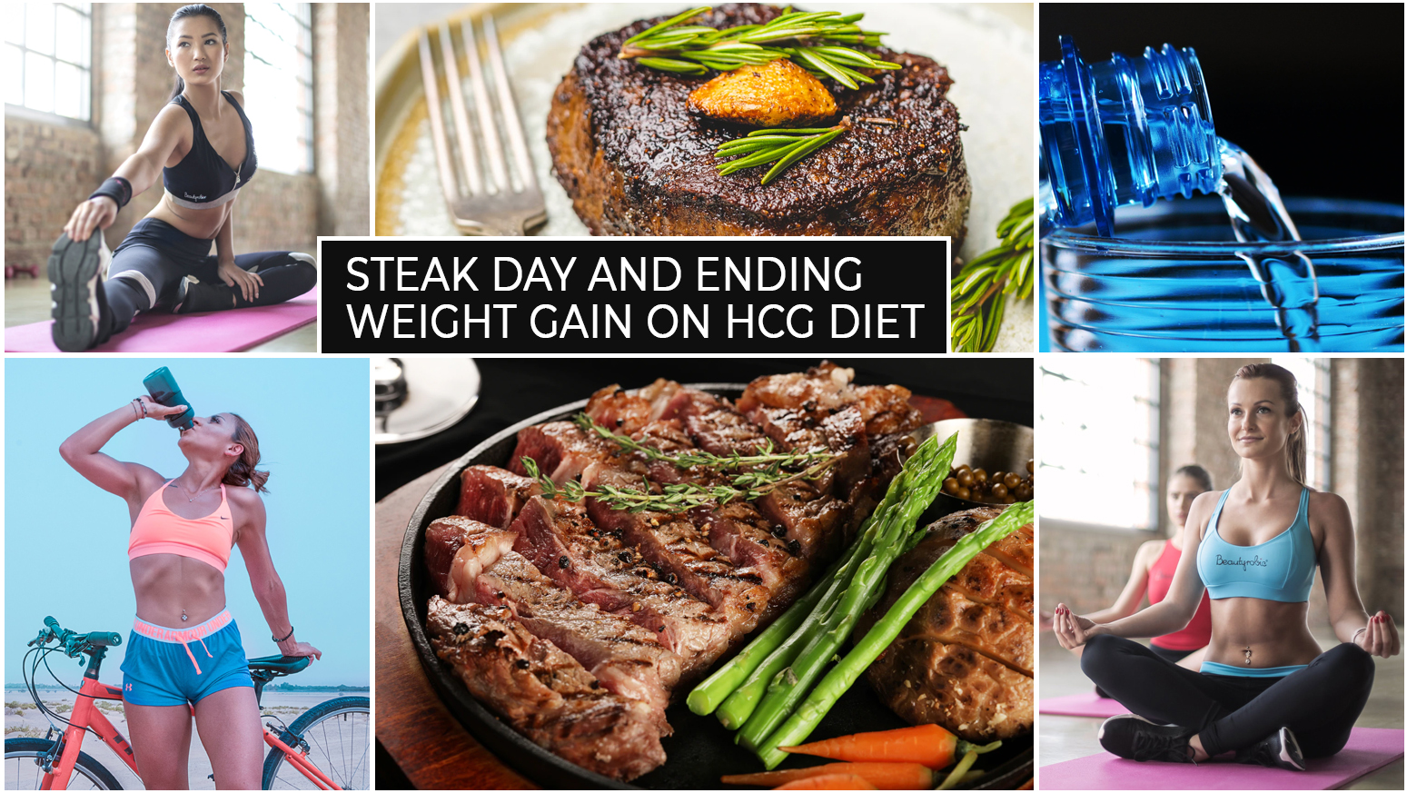 STEAK DAY AND ENDING WEIGHT GAIN ON HCG DIET