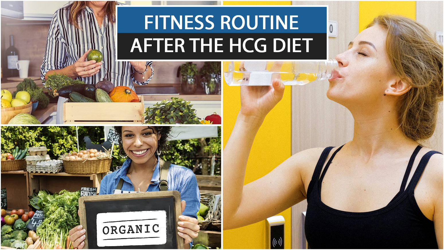 FITNESS ROUTINE AFTER THE HCG DIET