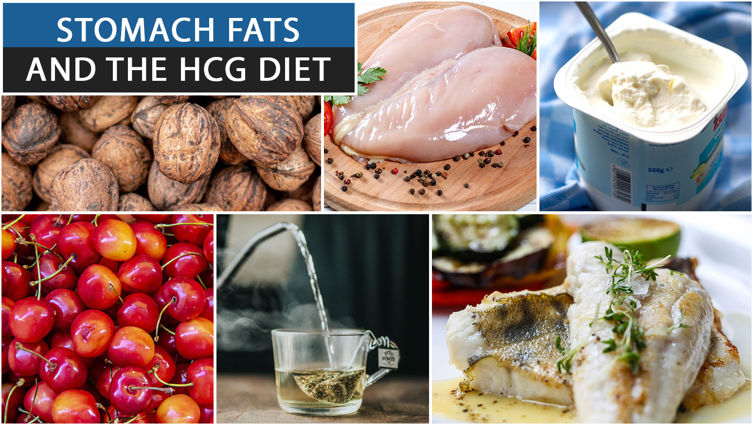 STOMACH FATS AND THE HCG DIET