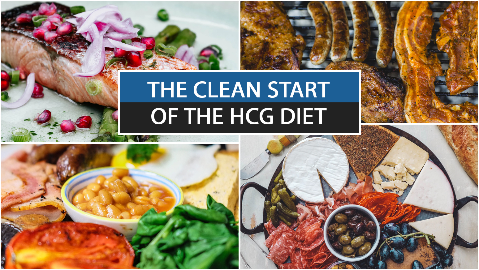 THE CLEAN START OF THE HCG DIET