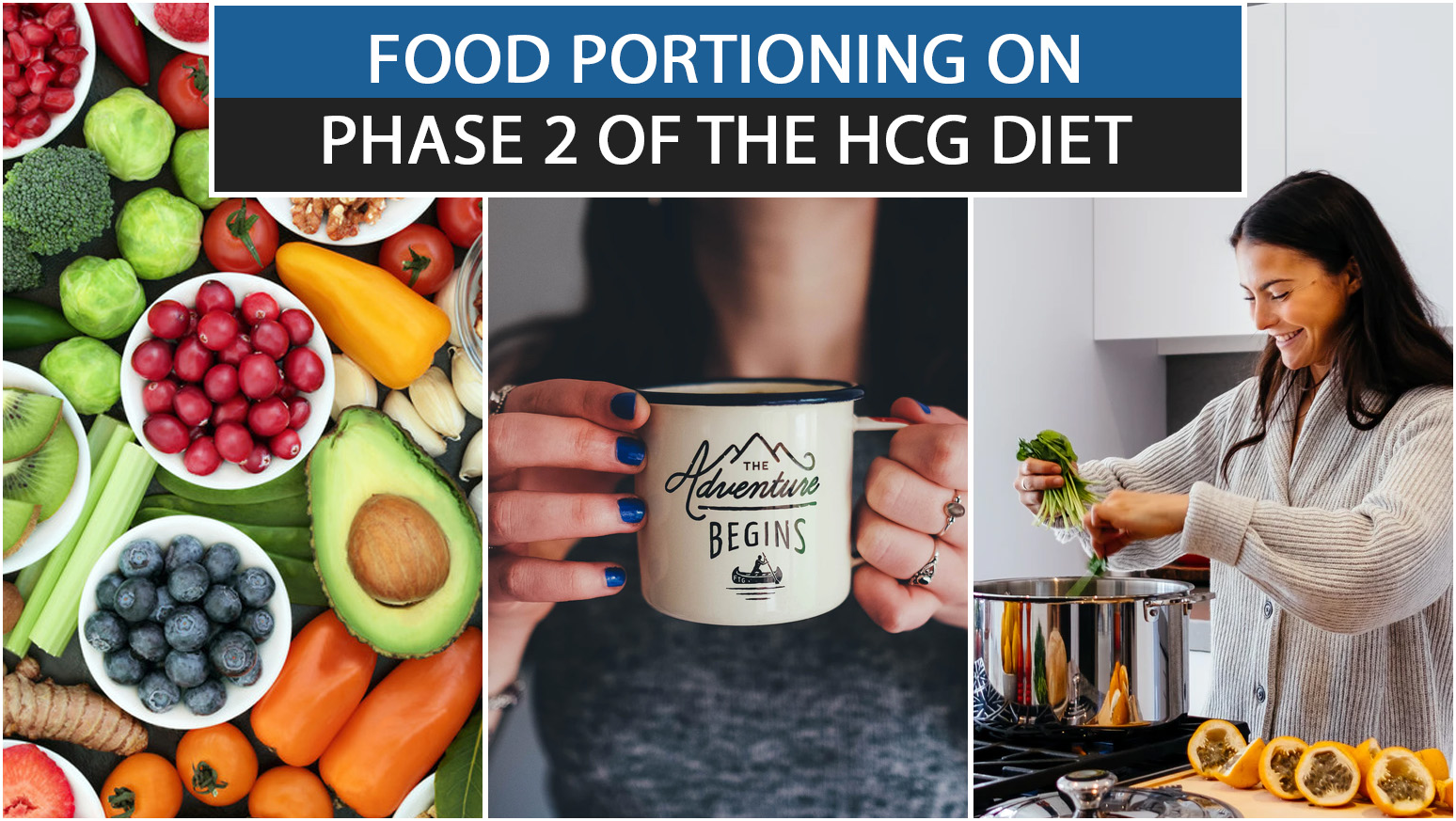 FOOD PORTIONING ON PHASE 2 OF THE HCG DIET