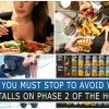 THINGS YOU MUST STOP TO AVOID WEIGHT LOSS STALLS ON PHASE 2 OF THE HCG DIET