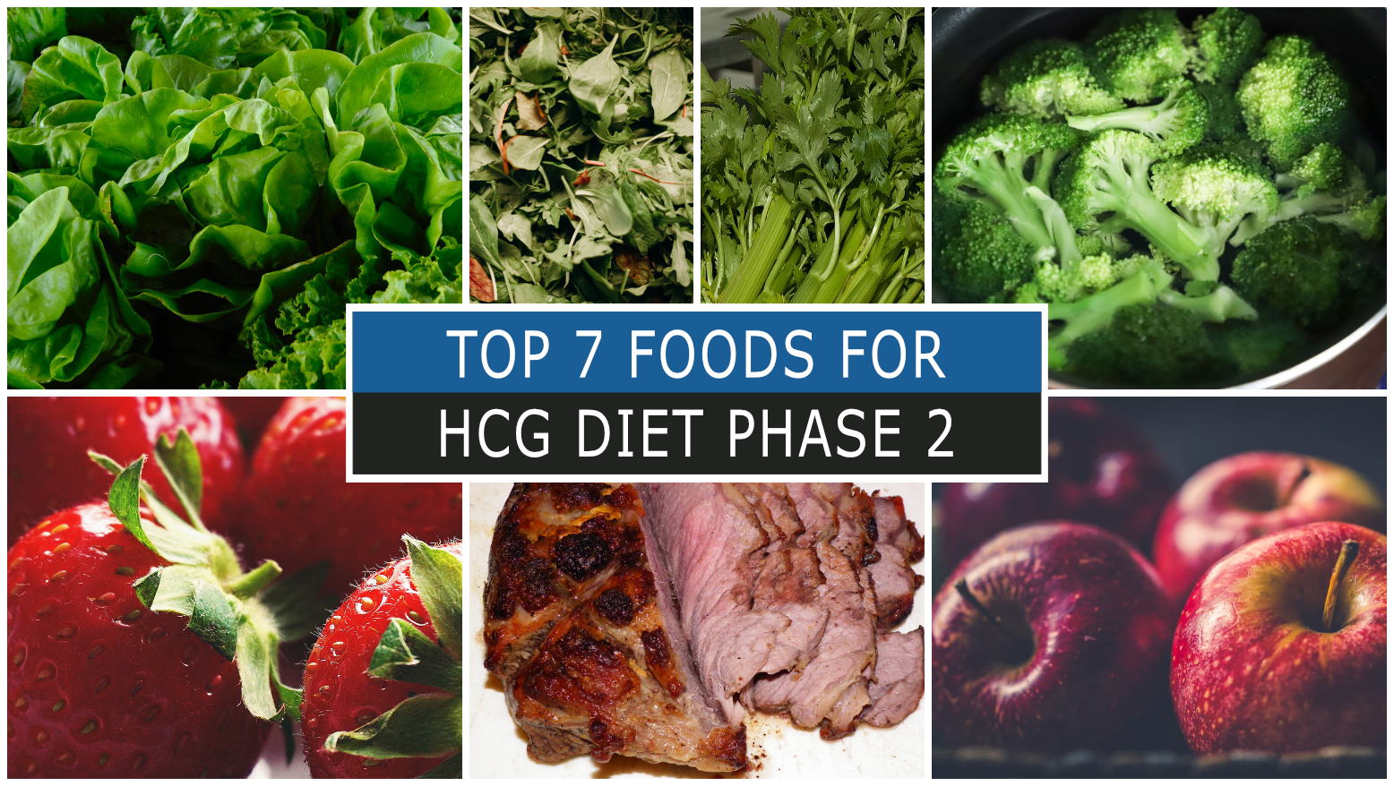 TOP 7 FOODS FOR HCG DIET PHASE 2