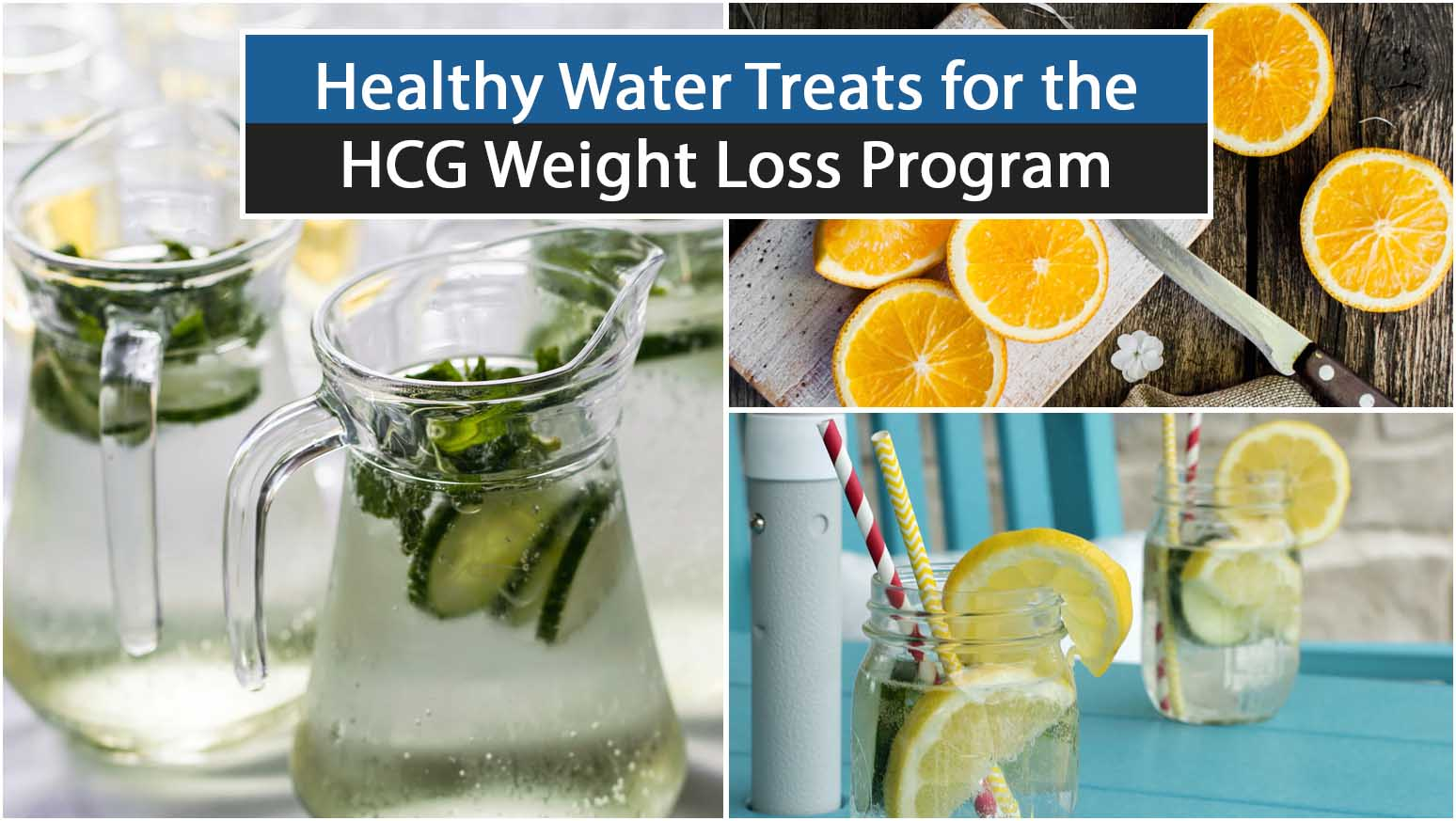 Healthy Water Treats for the HCG Weight Loss Program