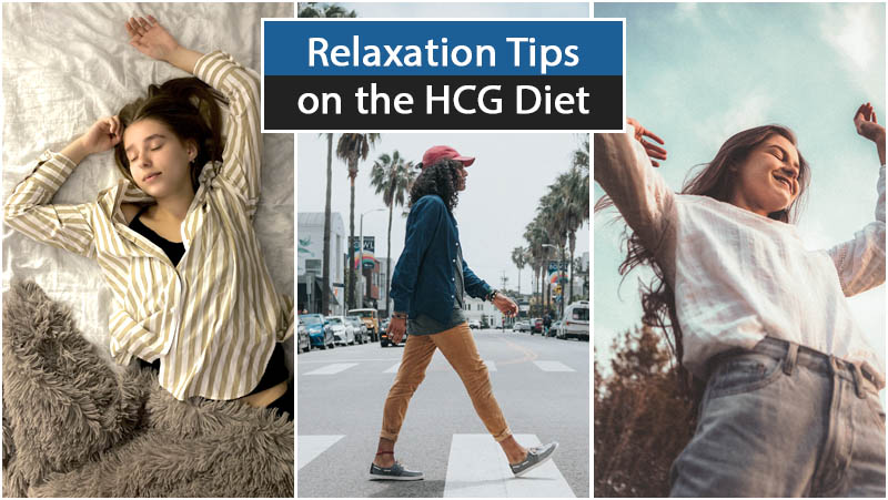 Relaxation Tips on the HCG Diet